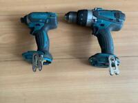 MAKITA DHP458 Hammer drill & DTD152 Impact driver