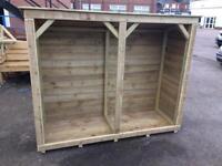 Wood Log Store