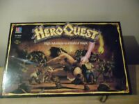 MB HERO QUEST HIGH ADVENTURE IN A WORLD OF MAGIC BOARD GAME