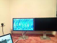 "2X Dell P2214H - LED monitor - 22"""