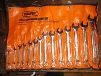 14 PIECE DRAPER COMBINATION SPANNER SET BRAND NEW NEVER BEEN USED