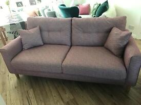 Next three seater Sofa , perfect condition , under one year old