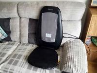 SensaTouch HoMedics Shiatsu Back Massager Chair Seat With Heat