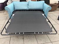 FABRIC SOFA BED USED IN GOOD CONDITION