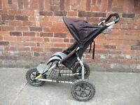 Mountain Buggy All Terrain 3 wheeler.