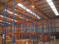 joblot 100 bays redirack pallet racking AS NEW( storage , shelving )