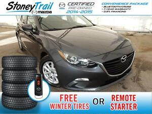 2015 Mazda Mazda3 GS SPORT- 7 YEAR WARRANTY / FREE WINTER TIRES