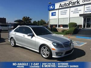 2013 Mercedes-Benz C-Class C300 4Matic| Panoramic Sunroof| Alloy