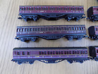 N Gauge LMS coaches