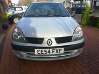 Renault Clio excellent condition 12 MONTHS MOT