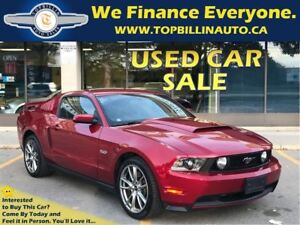 2012 Ford Mustang GT Only 7250 Kms, Navi, Brembo PKG, 6 SPEED