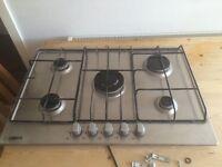 Zanussi 5 burner has hob brand new never been used