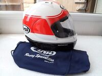 *Arai Viper GT ~ Red/White Full Face Helmet* Size Small (55-56cm)