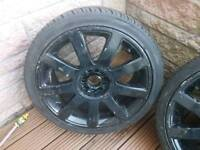 Alloy wheels vw/audi