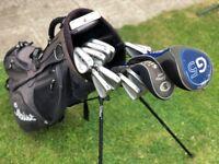 Mens Left-Handed Golf Clubs – Full Set (Ping G5, King Cobra Irons, Bag, Balls, etc.)