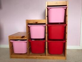 Storage unit from ikea