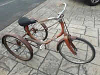 Vintage Childs Tricycle