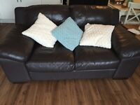 Brown Leather Sofa or sale
