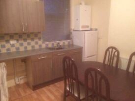 One bedroom self contained ground floor furnished flat in excellent location