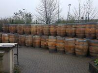 Reclaimed Oak Barrel