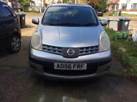 Nissan Note 56 plate