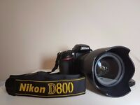 Nikon D800 and 24-70mm 2.8 lens