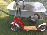 child's American style scooter
