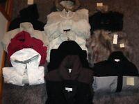 15 coats / jackets