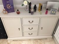 Charlotte Cream side cabinet in good condition