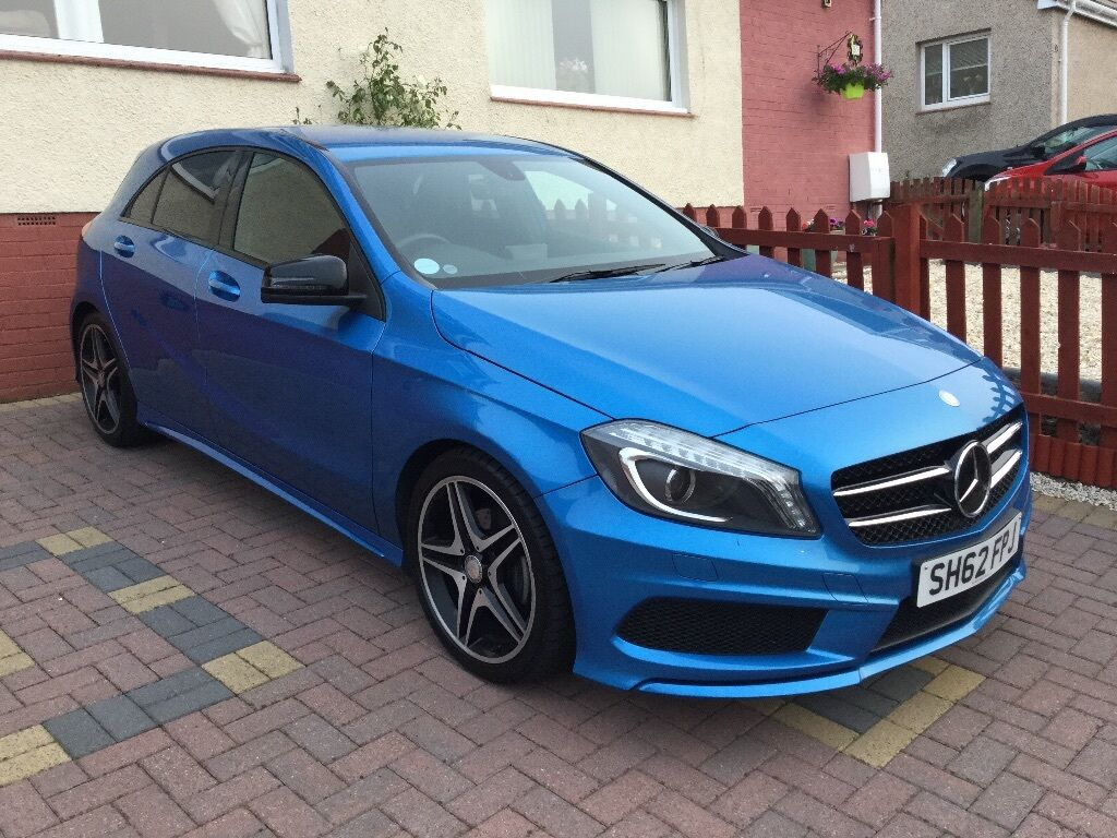 mercedes a200 amg blue efficiency in kilmarnock east ayrshire gumtree. Black Bedroom Furniture Sets. Home Design Ideas