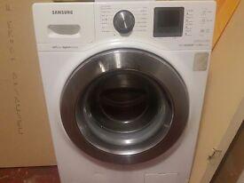 Samsung large drum 12kg eco bubble washing machine