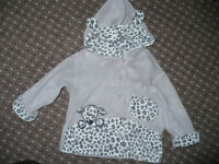 Bundle of 3 cardigans/hoodies/Spring jackets for girl 9-12mths/ 9-12 mths. In very good condition.