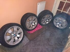 "BMW Alloy Wheels 17 "" with Hankook All Weather Tyres"