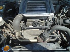 Nissan Navara Complete Engine 2.5 Code YD25 DDTI Removed from 2004 Vehicle