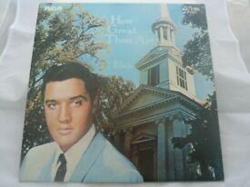 Elvis Presley Vinyl Album How Great Thou Art RCA Victor – SF 8206 (LSP 3758)