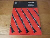 James Rae - 40 Modern Studies for Solo Clarinet