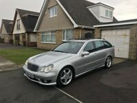 2004 Mercedes C270 CDI Turbo Diesel Auto Estate - AMG Sport Spec - Brand New MOT