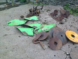 Duro Ploughs spare parts incl mouldboards