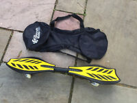 RIPSTIK WAVE BOARD AND CARRY BAG, EXCELLENT CONDITION, HARDLY USED