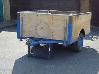 "camping / utility trailer. 6'1""x 4'9""x 27"""
