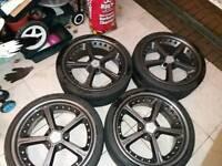 Bmw ac schnitzer alloy wheels 19 inch
