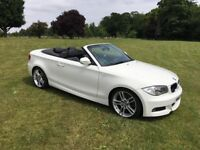 BMW 120d M Sport Convertible with extras