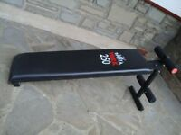 YORK 250 SIT UP BENCH / WEIGHTS BENCH ONLY £15