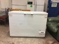 Large chest freezer as a crack on injure but works fine can deliver
