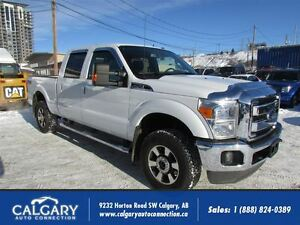 2012 Ford F-250 LARIAT/4X4/6.2L/LEATHER-SUNROOF