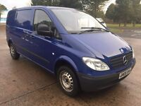 MERCEDES VITO 109CDI 2008 FOR SPARES OR REPAIR, STARTS AND DRIVES BUT HAS ENGINE FAULT