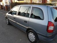 2005 Vauxhall Zafira - 1.6 petrol 7 seater