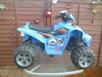 Electric Quad brand new used once 100 ONO