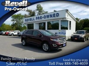 2017 Ford Edge SEL AWD | 1-OWNER | NAVIGATION | LEATHER