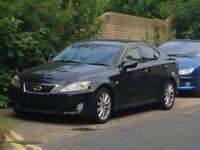 Lexus IS 250 SE TOP SPEC. 2007 BLACK ON BLACK
